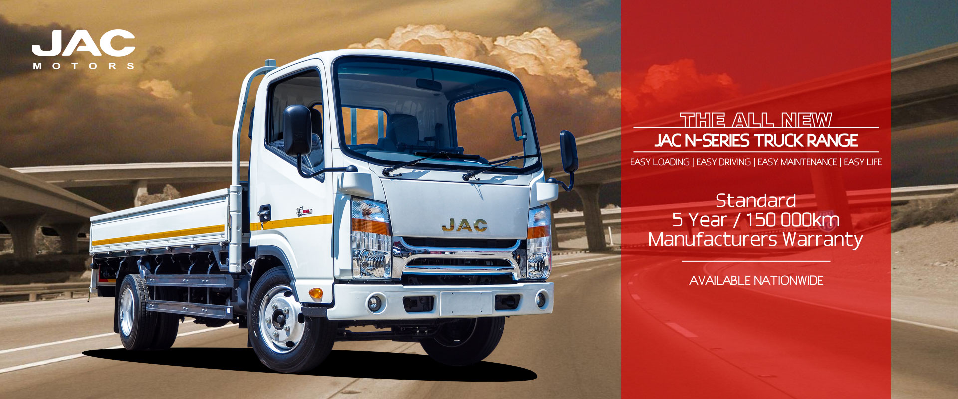 JAC N-Series Trucks